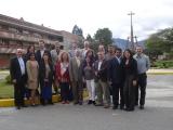Consorcio del proyecto ESVI-AL en instalaciones de UTPL, Loja, Ecuador