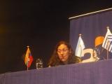 Andrea Cárdenas de UCN presentando ponencia