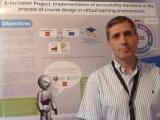 Participación en sesión de pósters de E-learning 2012