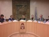 Mesa directiva presentación en UAH