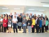 Grupo de socios ESVI-AL en cierre del evento ATICA2013