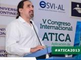 Presentación de Pablo Lecuona por parte de Unión Lationamericana de Ciegos (ULAC)