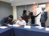 Conferencia de prensa para visibilidad en medios ESVI-AL