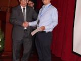 Primer premio - Julián Noguera y rector Padre Javier Herrán (3)