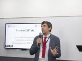 El Dr. Luis Bengochea con el uso de la palabra en el congreso ATICA/ATICAcces 2018