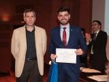 Entrega de premio al galardonado: Borja Martínez Márquez
