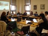 Socios del proyecto en sesión de trabajo del proyecto ESVI-AL