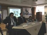 Mesa inaugural de expositores de Seminario de Discapacidad