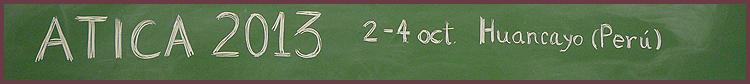Banner ATICA 2013