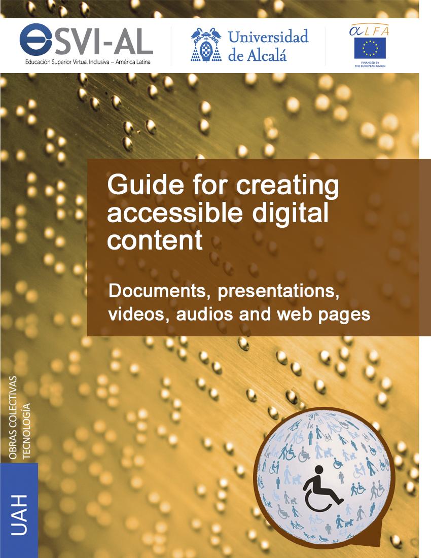Portada de la Guía Documentos ESVI-AL en Inglés