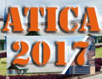 Logo corto con la palabra ATICA 2017