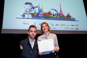 Foto premio II Congreso Internacional Tecnología y Turismo para Todas las Personas